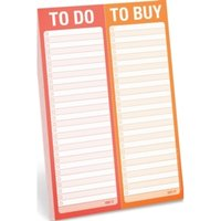 Knock Knock to Do / to Buy Perforated Pad