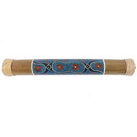 Bamboo Rainstick with Pattern