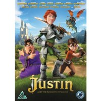 Justin and the Knights of Valour DVD