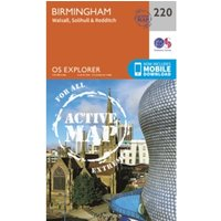 Birmingham, Walsall, Solihull and Redditch : 220