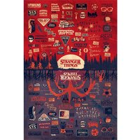Stranger Things - The Upside Down Maxi Poster
