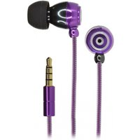 Kitsound In-Ear Headphones Purple