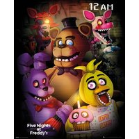 Five Nights At Freddy's Group Mini Poster