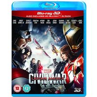 Captain America - Civil War Blu-ray