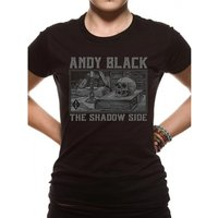 Andy Black - Black Death X-Large T-Shirt
