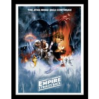 Star Wars The Empire Strikes Back - One Sheet Framed 30 x 40cm Print