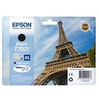 Epson C13T70214010 (T7021) Ink cartridge black, 2.4K pages, 45ml
