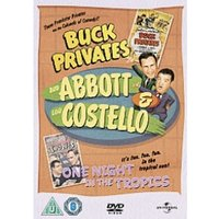 Abbott And Costello - Buck Privates / One Night In The Tropics DVD