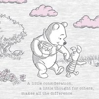 Winnie The Pooh - A Little Consideration Canvas