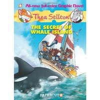 The Secret of Whale Island (Thea Stilton Graphic Novels Series #1)