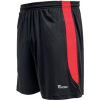 Precision Real Shorts 34-36 inch Black/Anfield Red