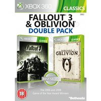Fallout 3 & The Elder Scrolls IV Oblivion Double Pack Game (Classics)