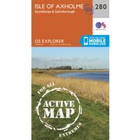Isle of Axholme, Scunthorpe and Gainsborough by Ordnance Survey (Sheet map, folded, 2015)