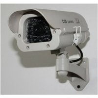 Outdoor Solar Powered Dummy CCTV Security Camera