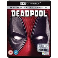 'Deadpool 4k Uhd Blu-ray