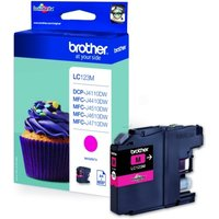 Brother LC-123M Ink cartridge magenta, 600 pages, 11ml