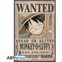 One Piece - Wanted Luffy New Small Poster