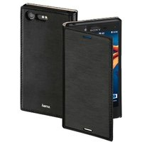 Hama Slim Booklet Case for Sony Xperia X Compact, black