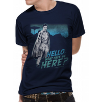 Star Wars - What Have We Here Lando Men's Small T-Shirt - Black