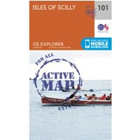 Isles of Scilly by Ordnance Survey (Sheet map, folded, 2015)