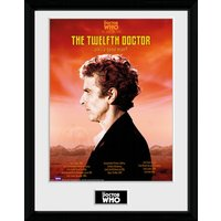 Doctor Who Spacetime Tour 12th Doctor Framed Collector Print