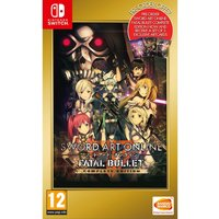 Sword Art Online Fatal Bullet Complete Edition Nintendo Switch Game (With Art Cards)