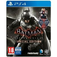 Batman Arkham Knight Special Edition PS4 Game (with Harley Quinn DLC)