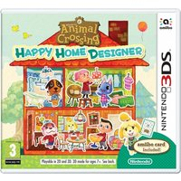 Animal Crossing Happy Home Designer 3DS Game (with Amiibo Card)