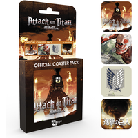 Attack On Titan Mix Coaster Pack