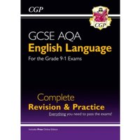 GCSE English Language AQA Complete Revision & Practice - Grade 9-1 Course (with Online Edition)