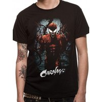 Marvel Now - Carnage Pose Men's Medium T-Shirt - Black