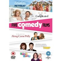 Couples Retreat/Its Complicated/Along Came Polly/Indentity Thief/Baby Mama DVD