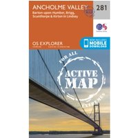 Ancholme Valley by Ordnance Survey (Sheet map, folded, 2015)