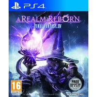 Final Fantasy XIV 14 Online A Realm Reborn Game PS4