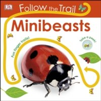 Follow the Trail Minibeasts : Take a peek! Fun finger trails!