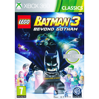 Lego Batman 3 Beyond Gotham Xbox 360 Game (Classics)