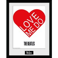 The Beatles Love Me Do Framed Collector Print
