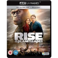 Rise Of The Planet Of The Apes 4KUHD   Blu-ray