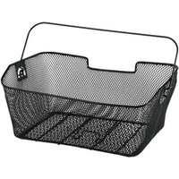 Hama Bicycle Basket for Luggage Carrier, black