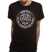 Miss May I - Lion Crest Men's Medium T-Shirt - Black