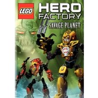 LEGO Hero Factory Savage Planet DVD