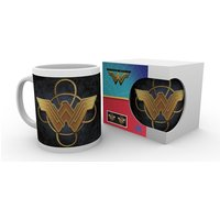 Wonder Woman Movie Gold Logo Mug