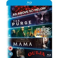 Mama/The Purge/Purge: Anarchy/OUIJA/As Above, So Below Blu-ray