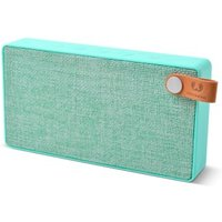 Fresh 'n Rebel Rockbox Slice Fabric Bluetooth Stereo Speaker, peppermint