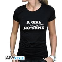 Game Of Thrones - A Girl Has No Name Women's Large T-Shirt - Black