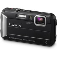 Panasonic Lumix DMC-FT30EB-K Waterproof Action Camera Black 16 MP 4x Optical Zoom
