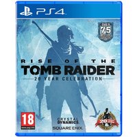 Rise of the Tomb Raider 20 Year Celebration PS4 Game (Pro Enhanced)