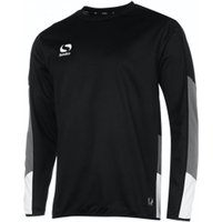 Sondico Venata Long Sleeve Jersey Adult Large Black/Charcoal/White