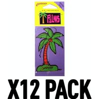 Monterey Vanilla (Pack Of 12) California Scents Palm Hang Outs