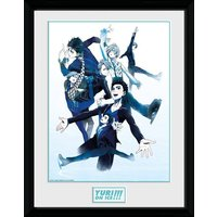 Yuri On Ice Characters Skate Collector Print